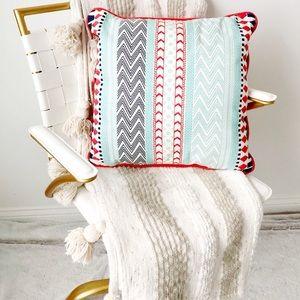 Boho Aztec Printed Decorative Accent Throw Pillow